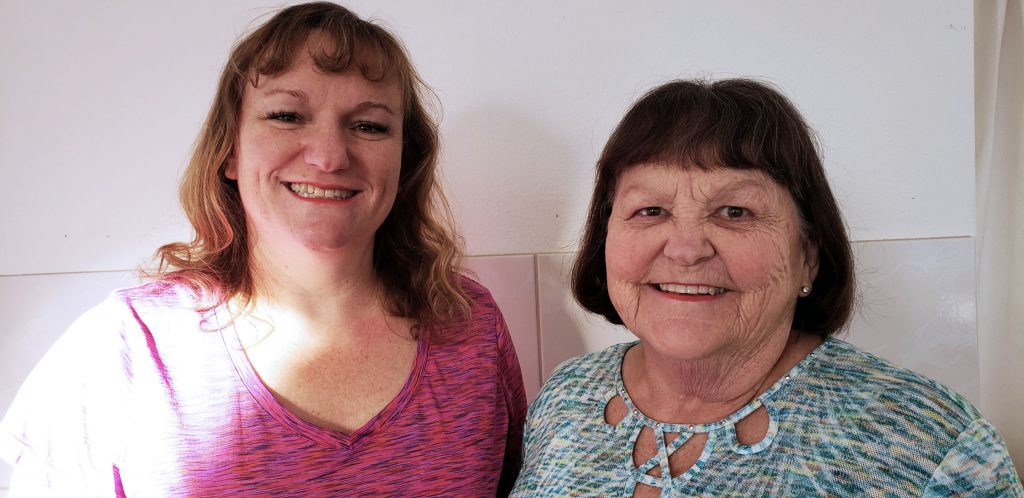 Helen and Teresa Cobler